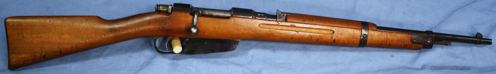 Carcano Model 38 Italian Bolt Action Rifle 7.35mm  Guns > Rifles > Military Misc. Rifles Non-US > Other