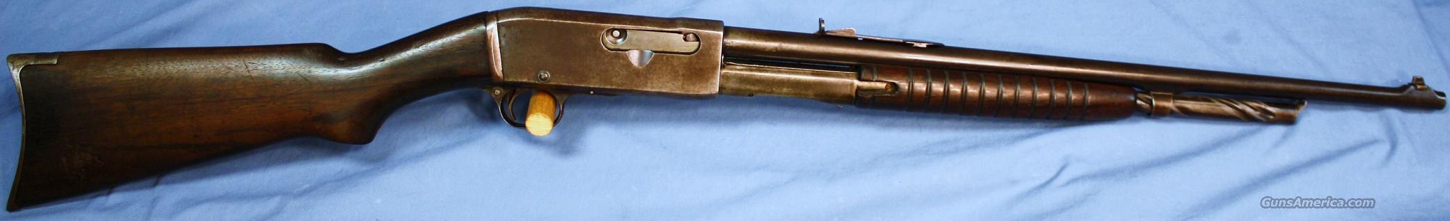 pump action 22 rifle