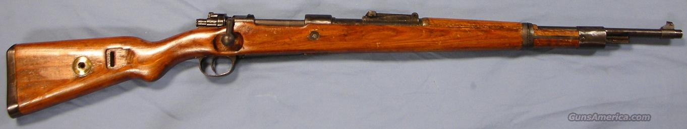 Mauser K98 Gustloff-Werke, Weimar WWII German Army Bolt Action Rifle 8mm  Guns > Rifles > Mauser Rifles > German