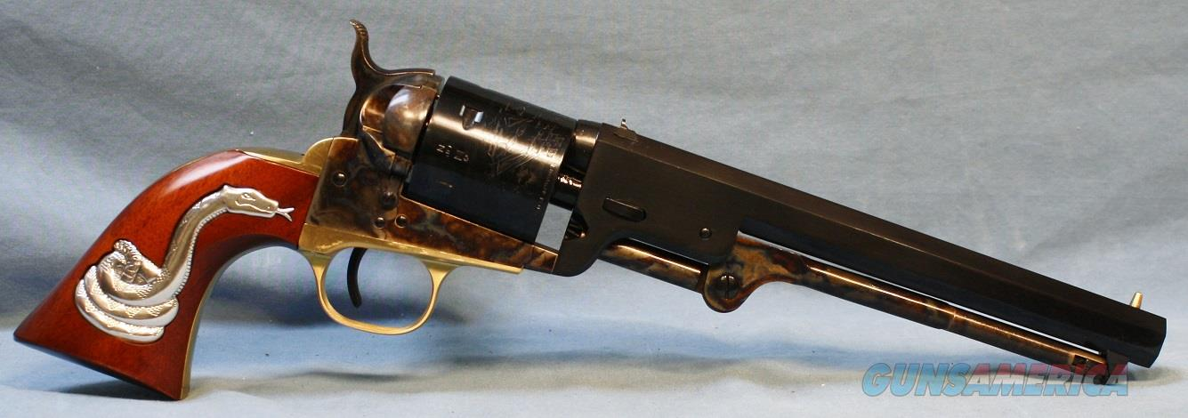 "Cimarron Model 1851 Man With No Name ""Blondie"" With Snake Single Action Revolver .38 Special with 7 1/2"" octagon barrel Free Shipping!!  Guns > Pistols > Cimmaron Pistols"