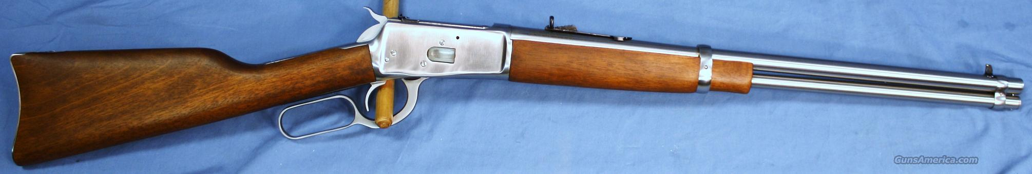 Rossi Model 92 Stainless Lever Action Rifle .357 Magnum  Guns > Rifles > Rossi Rifles > Cowboy
