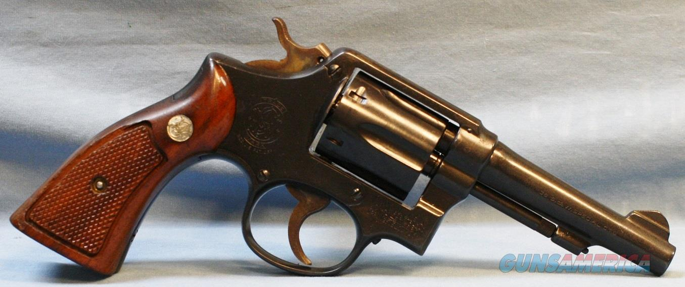 Smith & Wesson model M&P C series Double Action Revolver, made in 1955, 38 special Free Shipping!  Guns > Pistols > Smith & Wesson Revolvers > Model 10