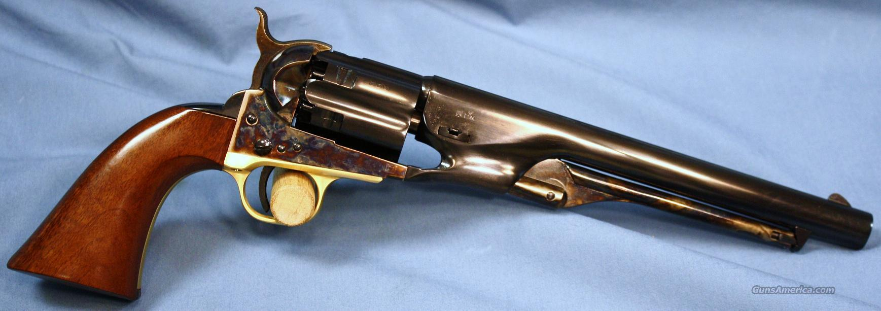 Uberti 1860 Army Single Action Percussion Revolver with Fluted Cylinder 44 Caliber  Guns > Pistols > Uberti Pistols > Percussion