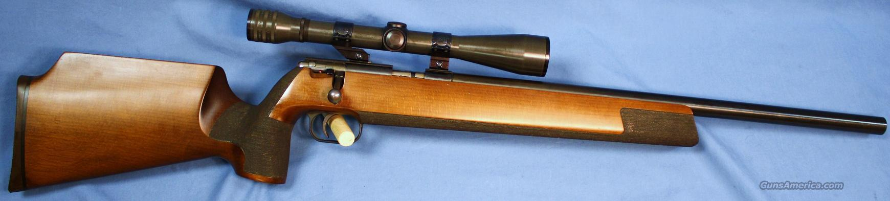 Anschutz Model 64 Silhouette Single Shot Bolt Action Target Rifle .22LR  Guns > Rifles > Anschutz Rifles