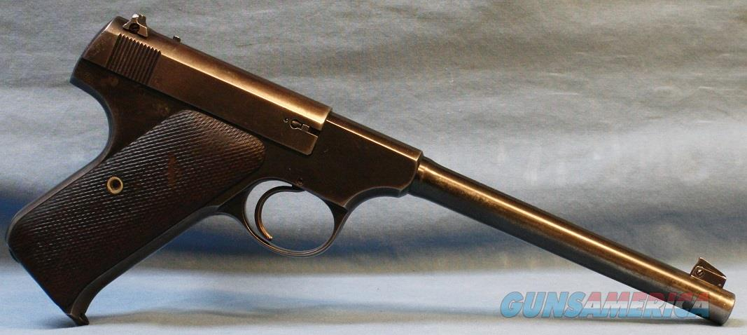Colt Woodsman Target Model 1st Series (made in 1931) Semi-Automatic Pistol, .22 LR   Guns > Pistols > Colt Automatic Pistols (22 Cal.)