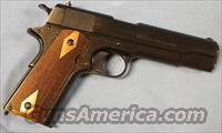 Colt 1911 Semi-Automatic Pistol ( 1918 US Army WWI Re-Issue ) .45 ACP  Colt Automatic Pistols (1911 & Var)