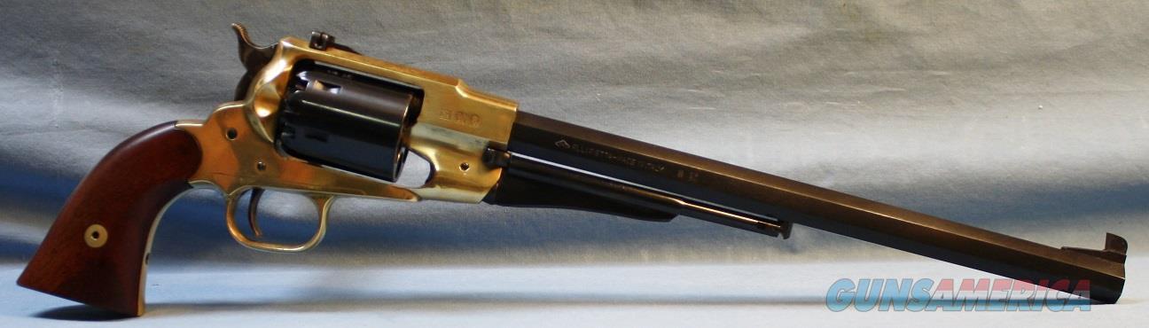 "Pietta Remington 1858 Buffalo Single Action Percussion Revolver with 12"" octagon barrel, 44 caliber Free Shipping!  Guns > Pistols > Pietta Pistols"