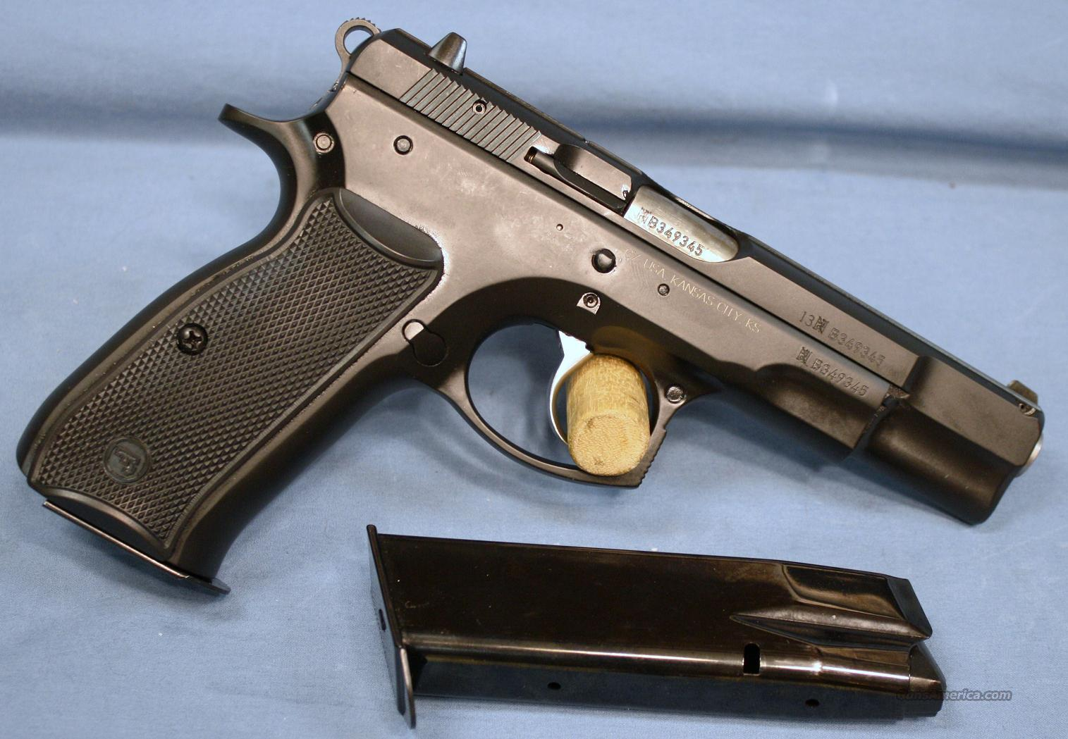 CZ USA CZ 75 B Semi-Automatic Pistol 9mm  Guns > Pistols > CZ Pistols