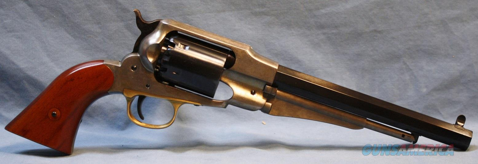 "Uberti Model 1858 Remington ""Angel Eyes"" Single Action Blackpowder Percussion Revolver, .44 Caliber Free Shipping!  Guns > Pistols > Uberti Pistols > Percussion"