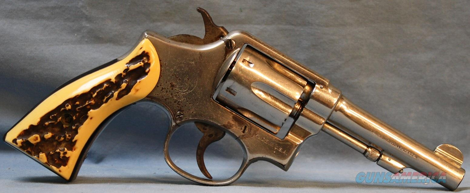 Smith & Wesson Victory Model Double Action Revolver, made in WWII, 38 Smith and Wesson Free Shipping!  Guns > Pistols > Smith & Wesson Revolvers > Model 10