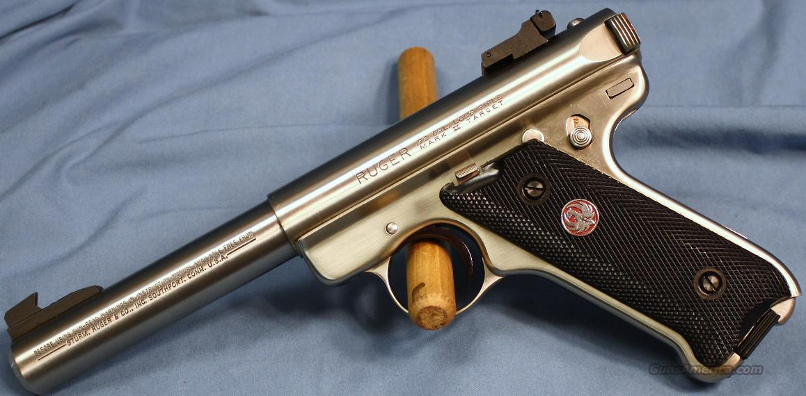 Ruger Mark II Semi-Automatic Pistol .22 Long Rifle  Guns > Pistols > Ruger Semi-Auto Pistols > Mark I & II Family