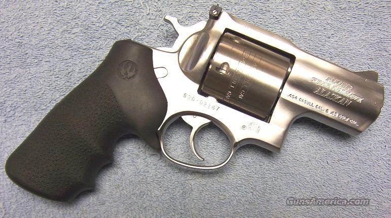 Ruger Super Redhawk Alaskan 454 Casull/45LC  Guns > Pistols > Ruger Single Action Revolvers