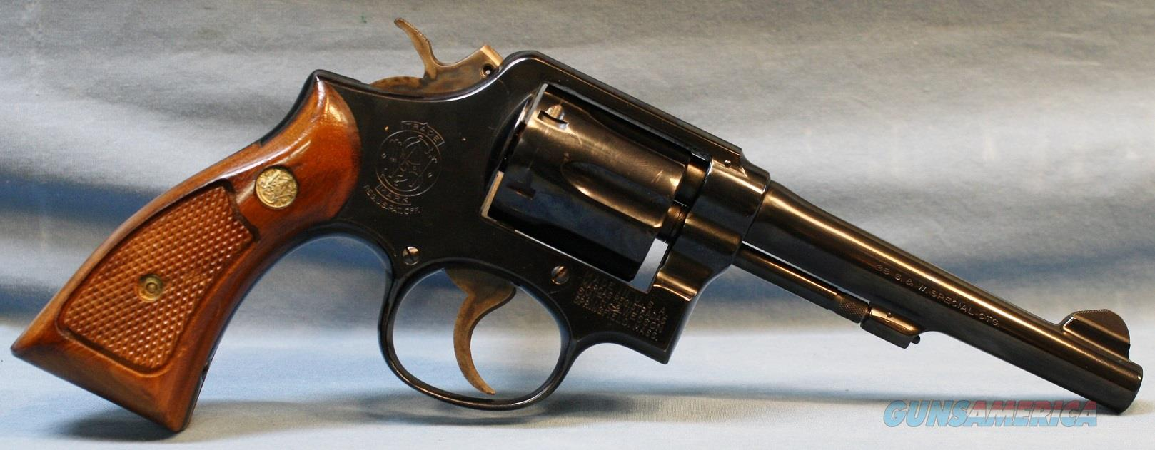 Smith & Wesson model 10-5 Double Action Revolver, made in 1971, 38 special Free Shipping!  Guns > Pistols > Smith & Wesson Revolvers > Model 10