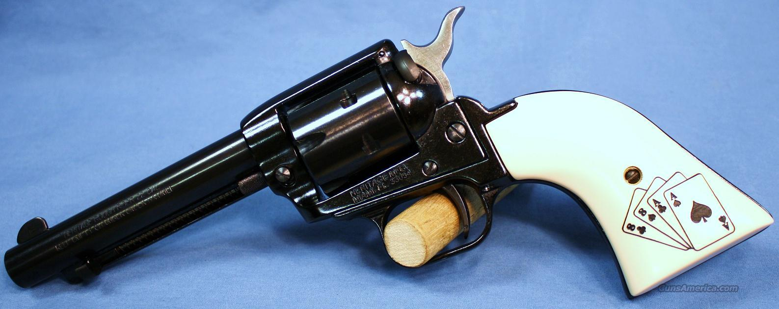 Heritage Rough Rider Aces and Eights Single Action Revolver .22LR  Guns > Pistols > H Misc Pistols