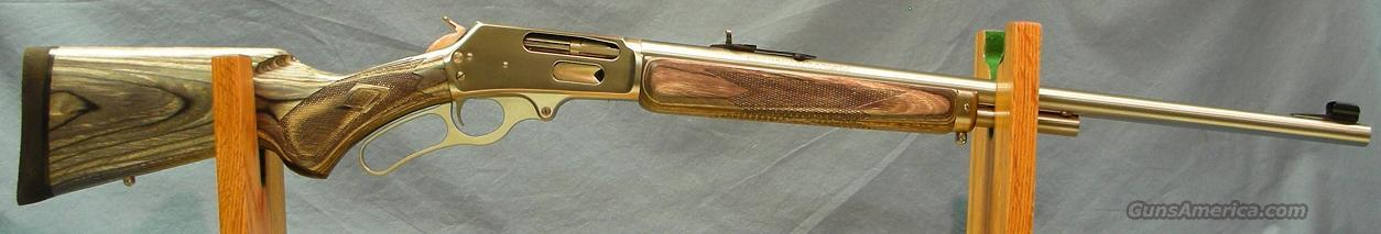 Marlin 1895MXLR Stainless Lvere Action Rifle .450 Marlin  Guns > Rifles > Marlin Rifles > Modern > Lever Action