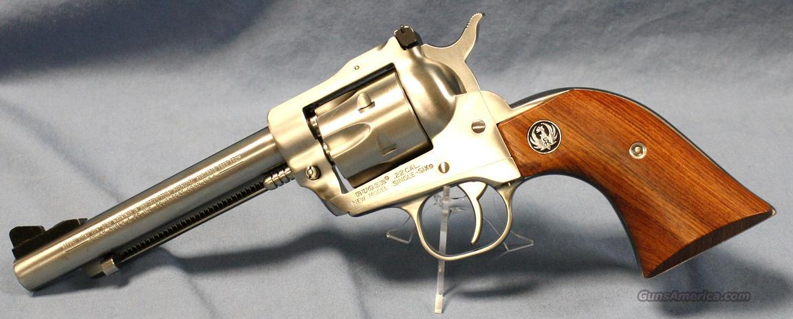 Ruger Single Six Stainless Revolver .22 Combo  Guns > Pistols > Ruger Single Action Revolvers > Single Six Type