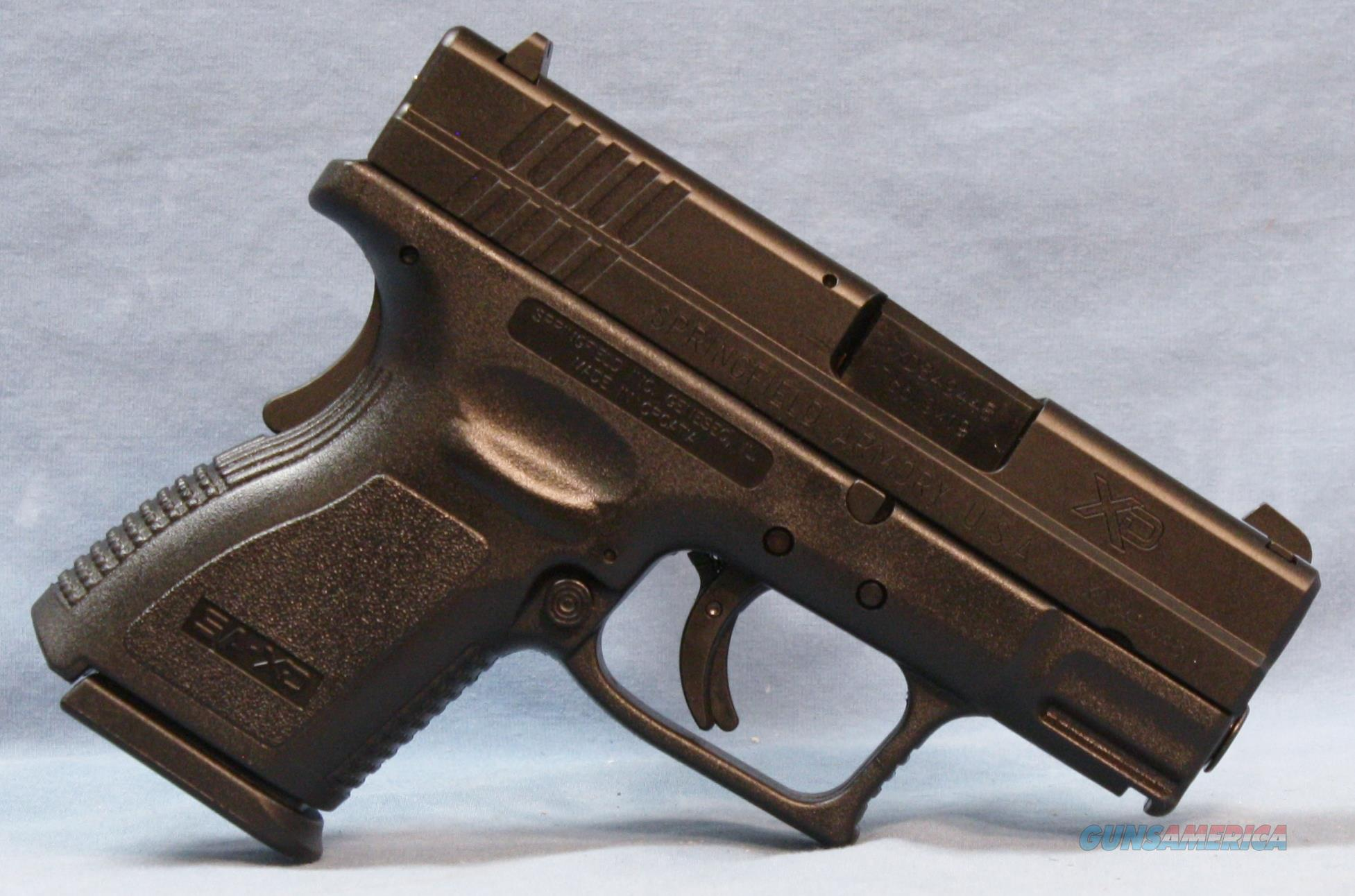 Springfield XD-9 Sub-Compact Semi-Automatic, 9mm   Guns > Pistols > Springfield Armory Pistols > XD (eXtreme Duty)