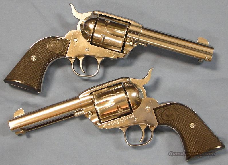 Ruger New Vaquero Stainless Single Action Revolver .357 Magnum  Guns > Pistols > Ruger Single Action Revolvers > Cowboy Action