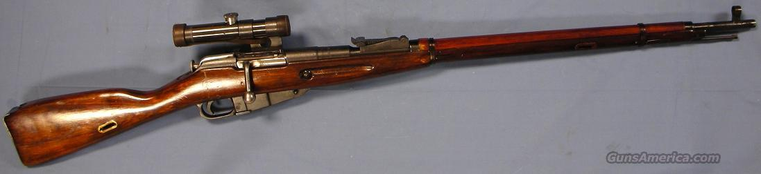 Mosin-Nagant 1891/30 WWII Soviet Army Sniper Rifle (Izhevsk 1942) 7.62x54R  Guns > Rifles > Mosin-Nagant Rifles/Carbines