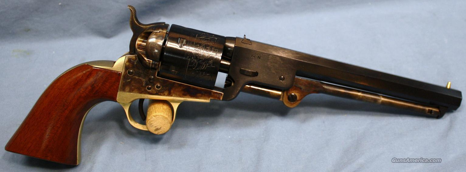 "Cimarron ""Man With No Name"" 1851 Navy Cartridge Conversion Single Action Revolver 38 Special  Guns > Pistols > Cimmaron Pistols"