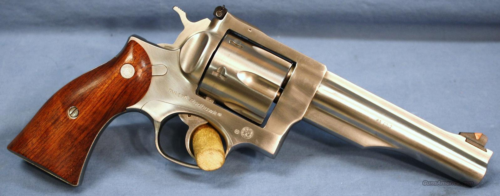Ruger Redhawk Double Action Revolver .45 Colt Made in 1998  Guns > Pistols > Ruger Double Action Revolver > Redhawk Type