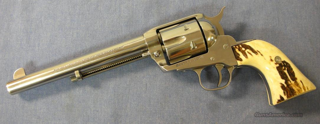 Ruger Vaquero 45 Colt Custom Stainless Single Action Revolver  Guns > Pistols > Ruger Single Action Revolvers > Cowboy Action