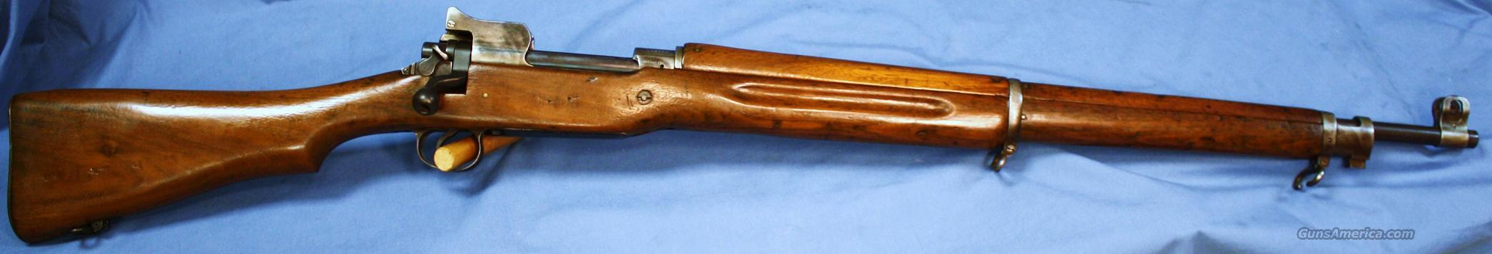 U.S. Army Model 1917 WWI Eddystone Bolt Action Rifle .30-06 Made 1918  Guns > Rifles > Military Misc. Rifles US > Model 1917 Variants