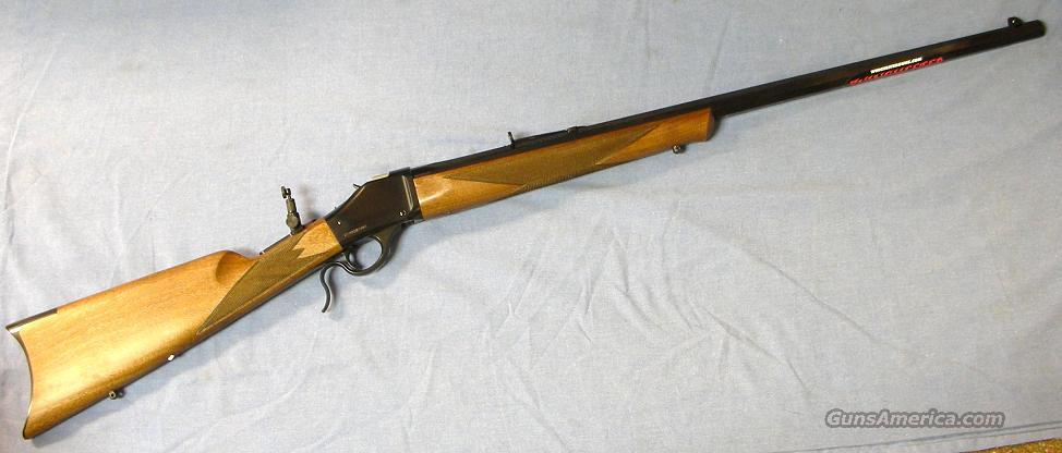 Winchester 1885 Ltd. 38-55 Single Shot Rifle  Guns > Rifles > Winchester Rifles - Modern Bolt/Auto/Single > Single Shot