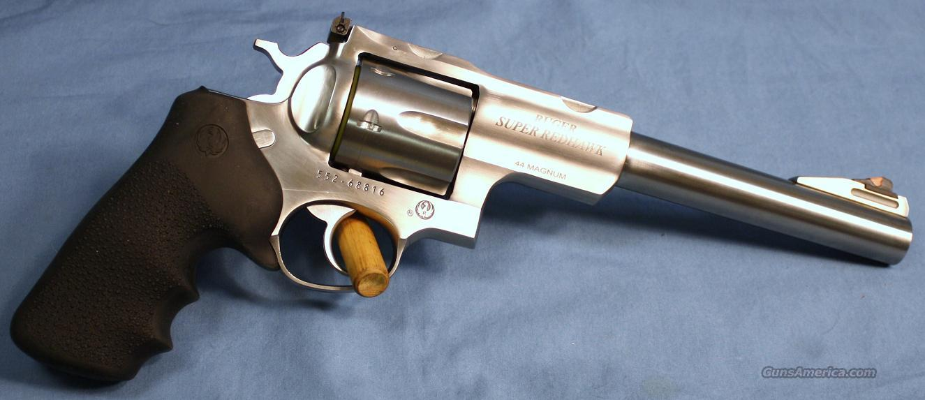 Ruger Super Redhawk Double Action Revolver .44 Magnum  Guns > Pistols > Ruger Double Action Revolver > Redhawk Type