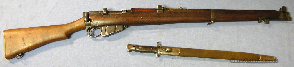 SMLE (Enfield) No.1 MKIII WW I British Army Bolt Action Rifle .303 British  Guns > Rifles > Enfield Rifle