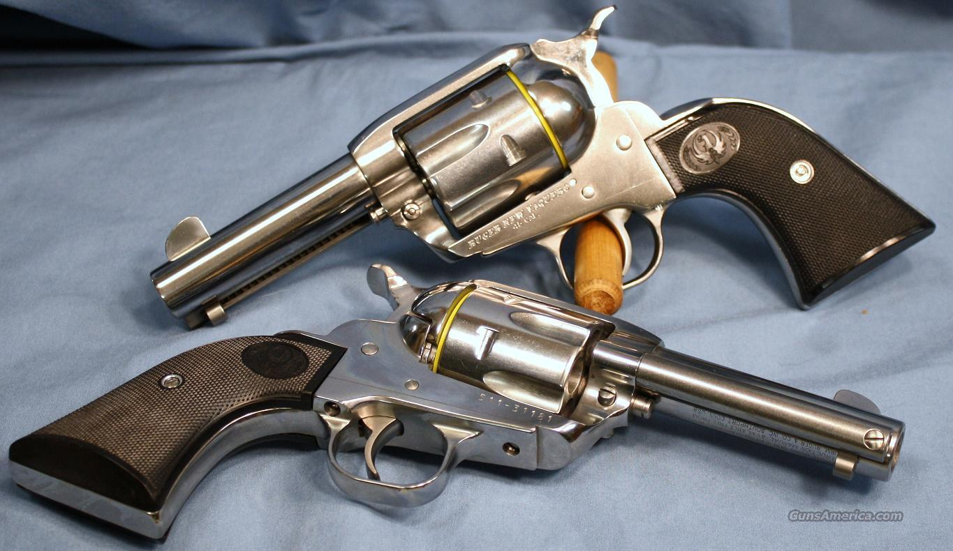 Ruger Montado Vaquero Single Action Revolver Matched Pair 45 Colt  Guns > Pistols > Ruger Single Action Revolvers > Cowboy Action