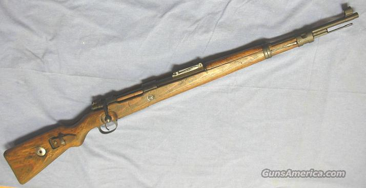 Mauser 98K Bolt Action Rifle 8mm Mauser (8x57mm)  Guns > Rifles > Mauser Rifles > German