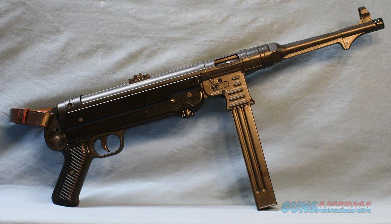 ATI German Sport MP40P Semi-Auto Pistol with 7 Magazines, Ammo Pouches, 9mm  Guns > Pistols > American Tactical Imports Pistols