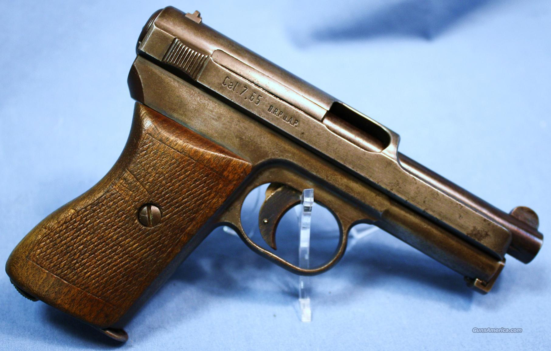 Mauser Model 1934 Semi-Automatic Pistol .32ACP Made 1940  Guns > Pistols > Mauser Pistols