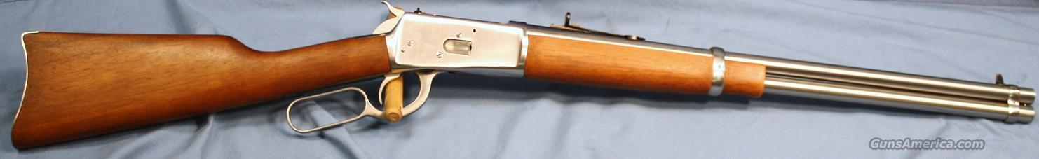 Rossi 92 Stainless Lever Action Carbine 44 Magnum  Guns > Rifles > Rossi Rifles > Cowboy