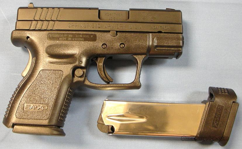 Springfield Armory XD 40 Sub-Compact Semi-Automatic Pistol 40S&W  Guns > Pistols > Springfield Armory Pistols > XD (eXtreme Duty)