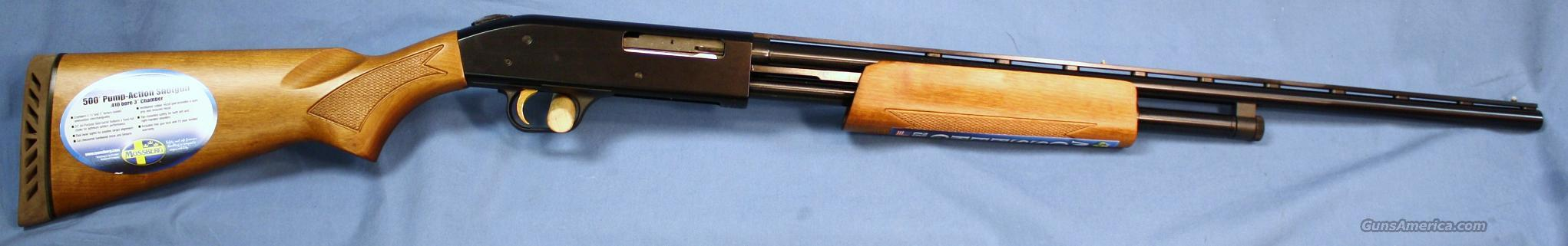 Mossberg 500 Crown Grade Pump Shotgun .410 Gauge  Guns > Shotguns > Mossberg Shotguns > Pump > Sporting