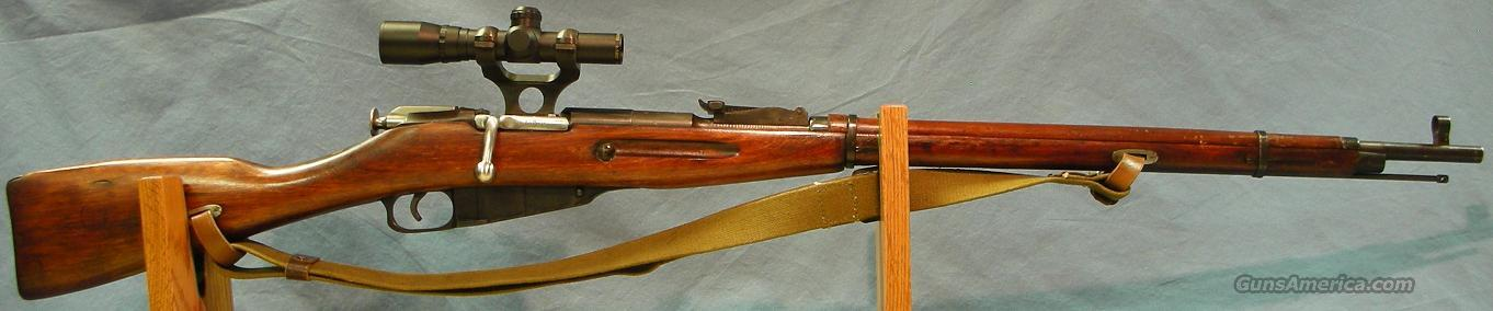 Mosin-Nagant 1891/30 Custom Bolt Action Rifle with Scope 7.62x54R (Tula 1943)  Guns > Rifles > Mosin-Nagant Rifles/Carbines