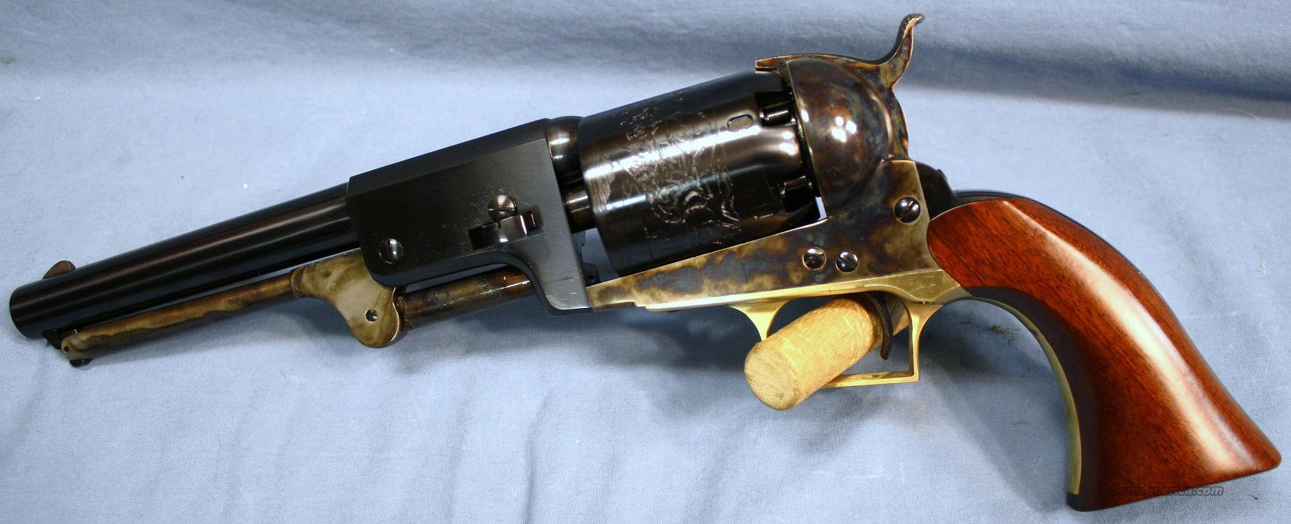 Cimarron 1848 Whitneyville Dragoon Single Action Blackpowder Percussion Revolver .44 Caliber Free Shipping and No Credit Card Fees!  Guns > Pistols > Cimmaron Pistols