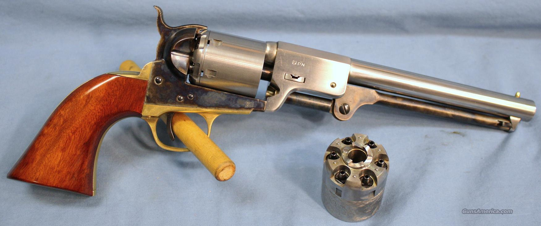 Cimarron Model 1862 Leech and Rigdon Single Action Percussion Revolver, .36 caliber  Guns > Pistols > Cimmaron Pistols