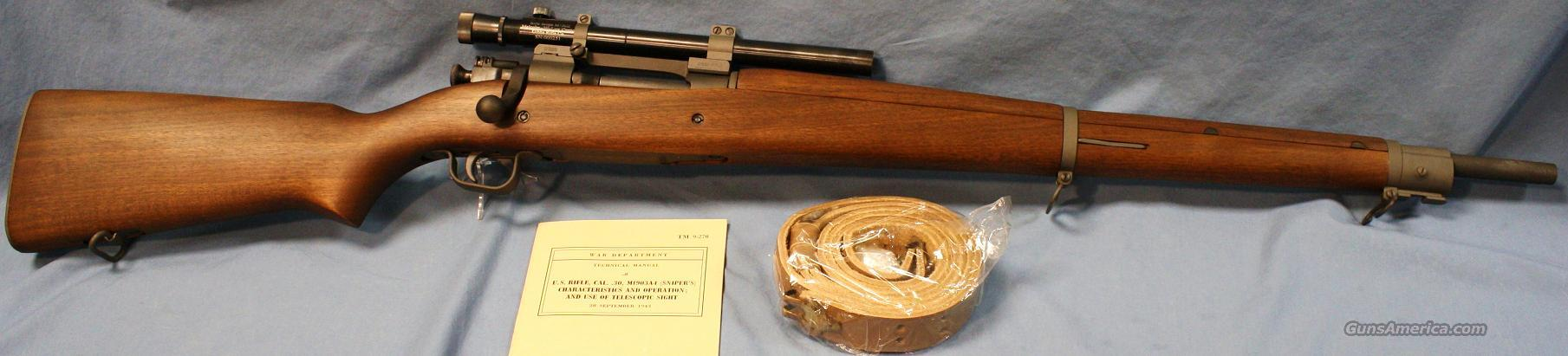 Gibbs Model 1903-A4 Remington Sniper Bolt Action Rifle .30-06  Guns > Rifles > Gibbs Rifles