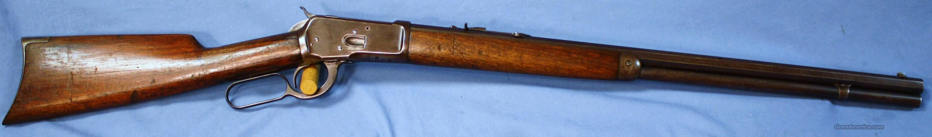 Winchester Model 1892 Lever Action Rifle 38 WCF   Guns > Rifles > Winchester Rifles - Modern Lever > Other Lever > Pre-64