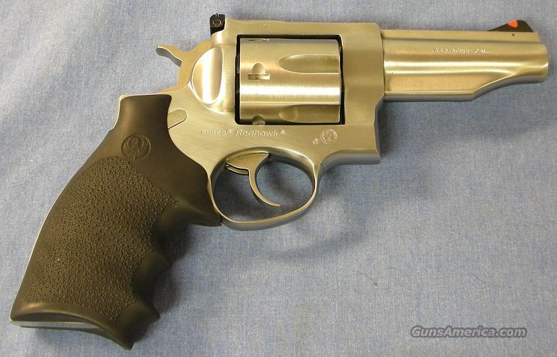 Ruger Redhawk Stainless Double Action Revolver .44 Magnum  Guns > Pistols > Ruger Double Action Revolver > Redhawk Type