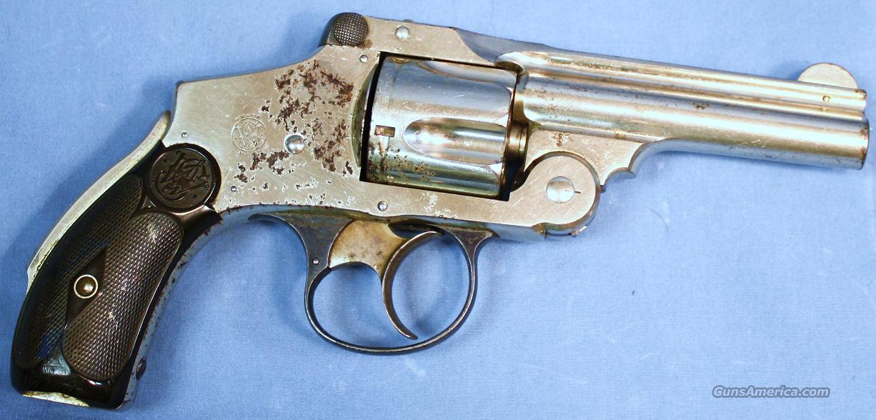 Smith & Wesson 4th Model Break Top Double Action Revolver .38S&W  Guns > Pistols > Smith & Wesson Revolvers > Pocket Pistols