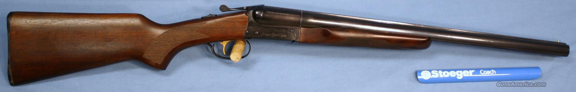 Stoeger Coach Gun ST 12 Gauge Side By Side Shotgun  Guns > Shotguns > Stoeger Shotguns