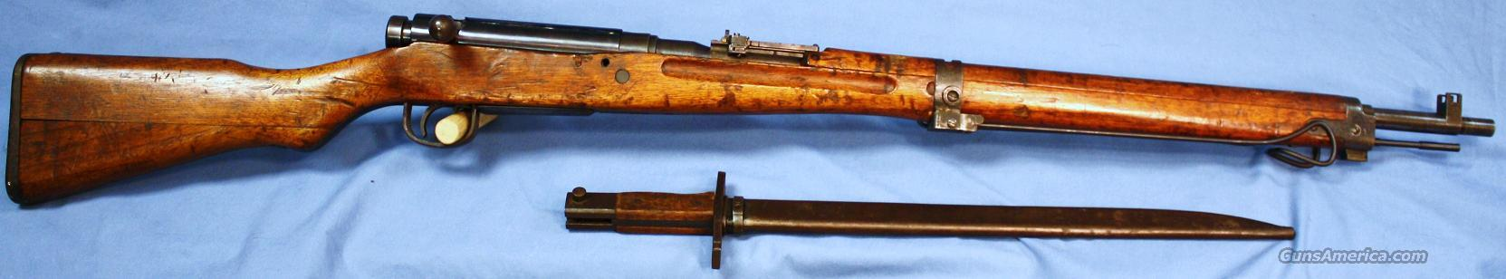 Arisaka Type 99 Japanese Bolt Action Rifle 7.7mm Japanese with Bayonet  Guns > Rifles > Military Misc. Rifles Non-US > Other