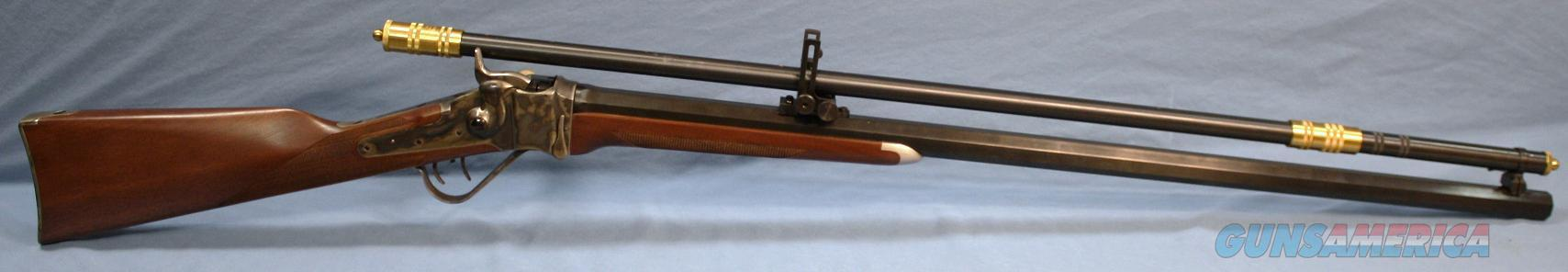 Cimarron Model 1874 Sharps Billy Dixon Single Shot Rifle with Malcolm 6x Scope 38-55 Win  Guns > Rifles > Cimmaron Rifles > Single Shot