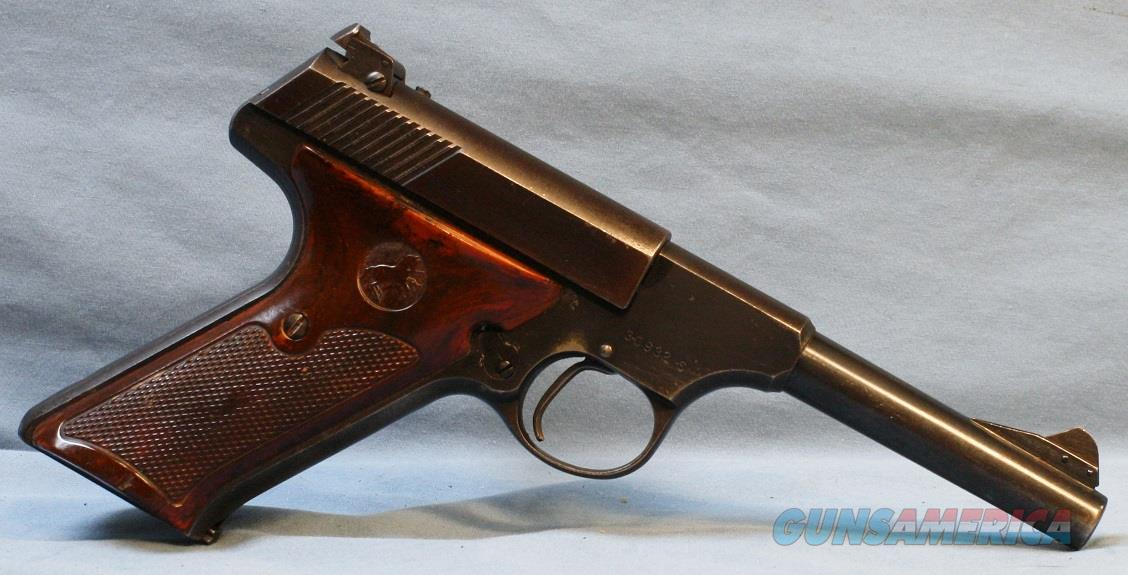Colt Woodsman (made in 1949) Semi-Automatic Pistol, .22 LR   Guns > Pistols > Colt Automatic Pistols (22 Cal.)
