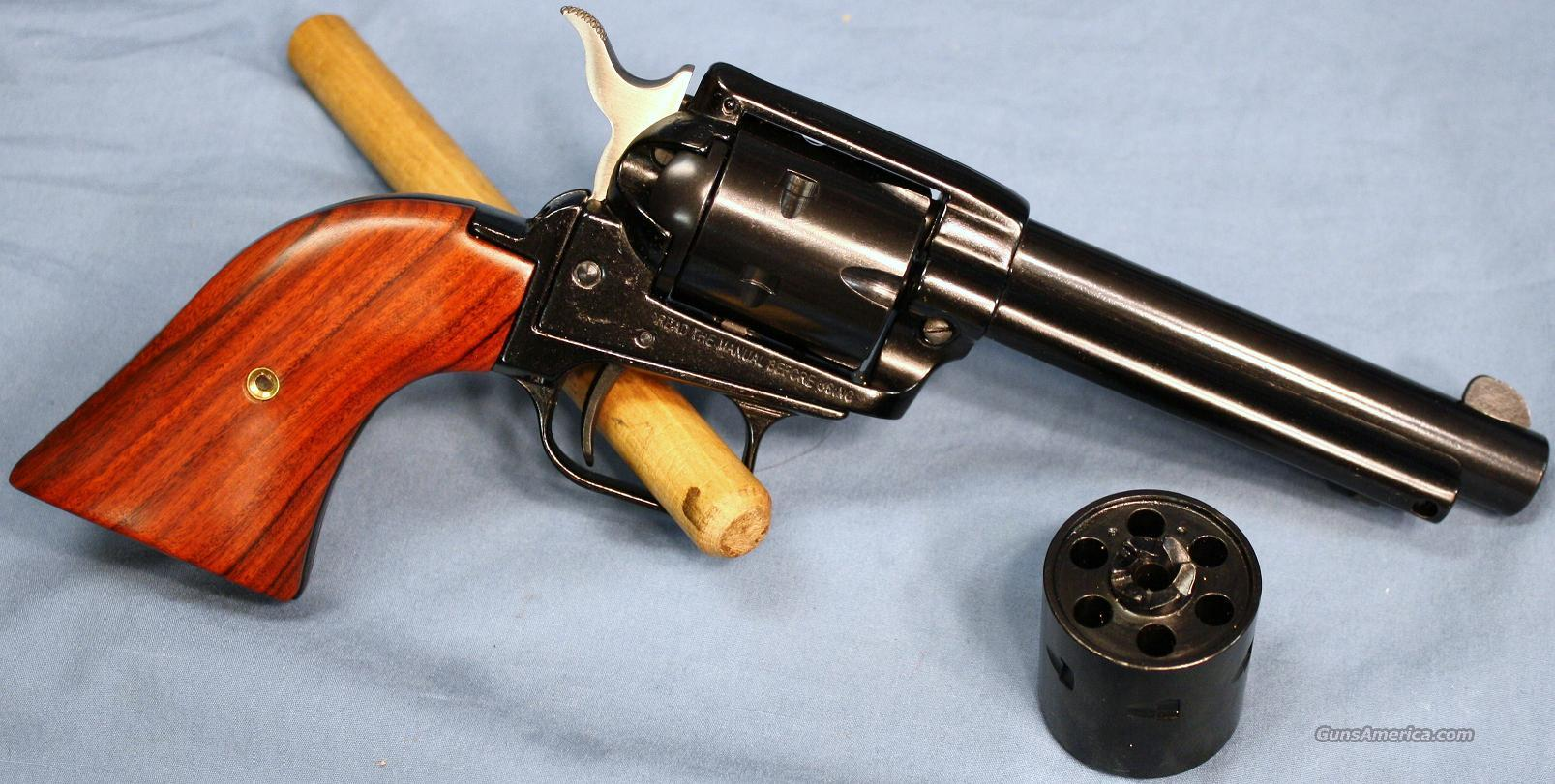 Heritage Rough Rider Single Action Revolver, .22 LR & 22 Mag Combo   Guns > Pistols > H Misc Pistols