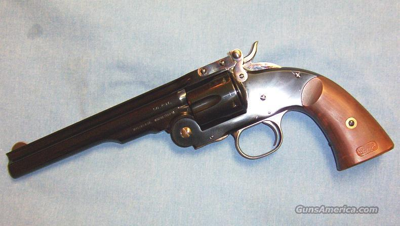 Uberti Schofield 2nd Model 1875 45 Colt Single Action Revolver  Guns > Pistols > Uberti Pistols > Ctg.